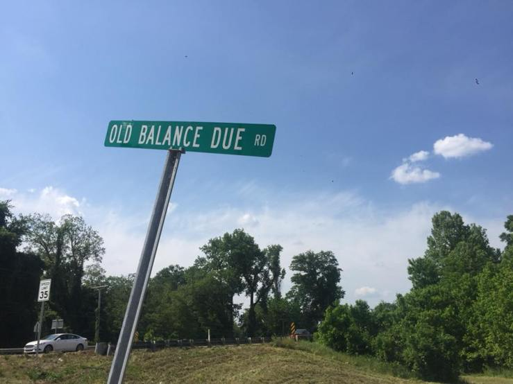 Old Balance Due Road Lexington Mississippi Deep South