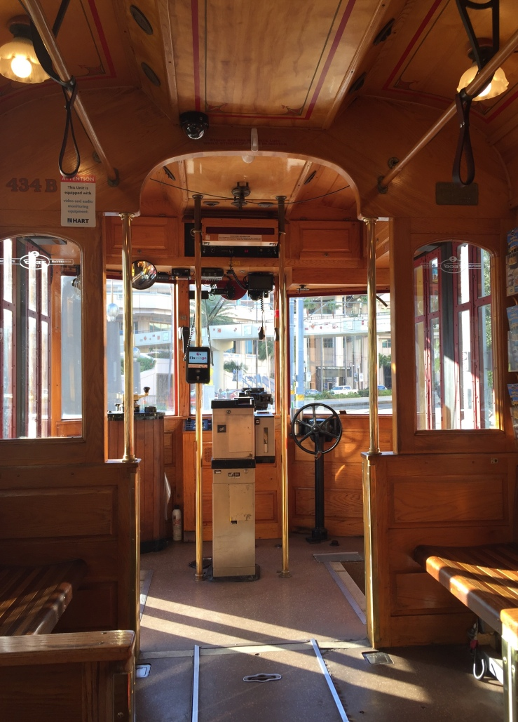 Tampa Florida trolley Ybor City