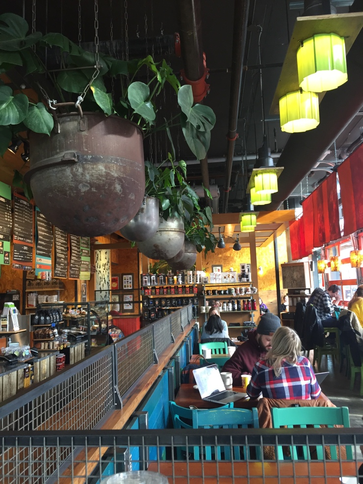 Colectivo Coffee Logan Square Milwaukee Avenue Chicago Illinois