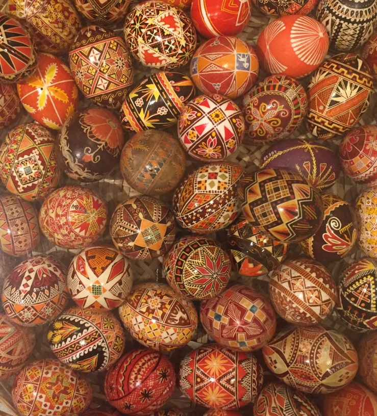 Chicago Illinois Ukrainian National Museum Pysanka Ukrainian Easter eggs
