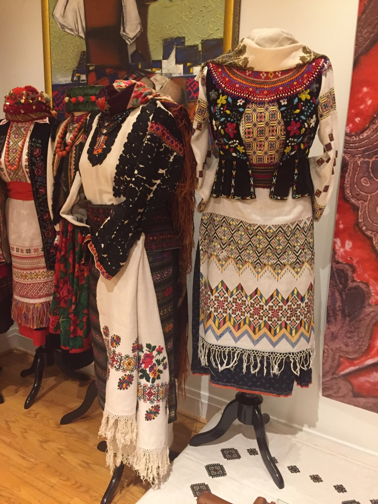 Chicago Illinois Ukrainian National Museum Traditional Ukrainian embroidery