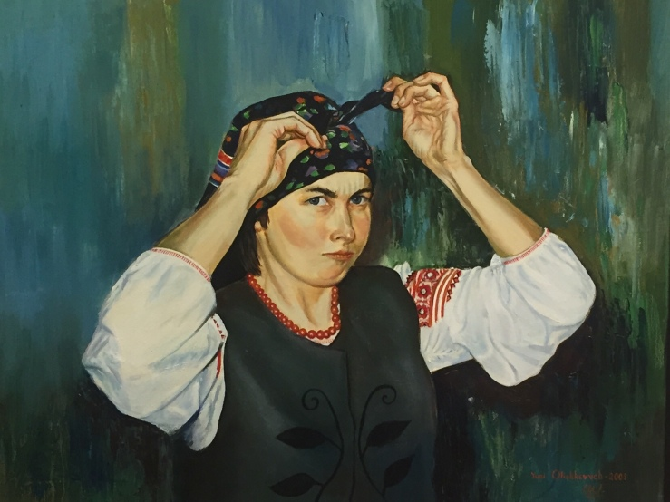 Chicago Illinois Ukrainian National Museum Yuri Olishkevych painting