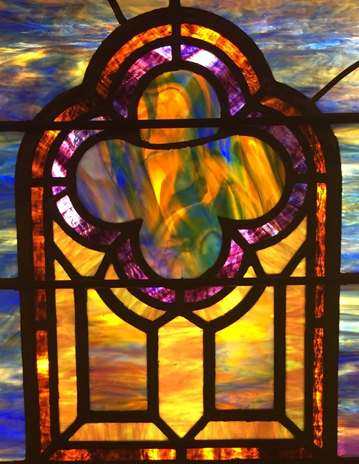 Evanston Illinois Halim Museum of Time and Glass Stained glass window