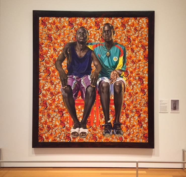 Gainesville Florida Harn Museum of Art Kehinde Wiley