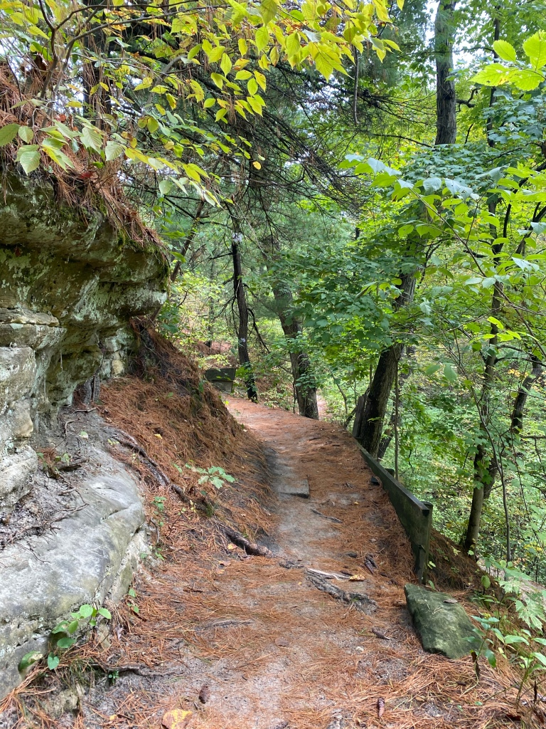 Starved Rock State Park in Oglesby, Illinois