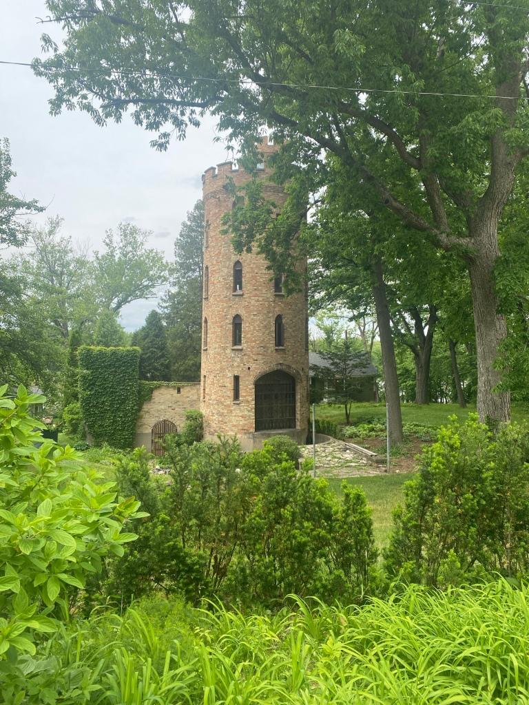 Pratt's Castle in Elgin, Illinois