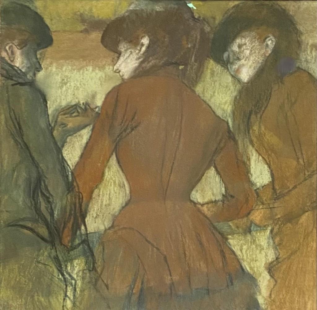Edgar Degas pastel drawing Denver Art Museum