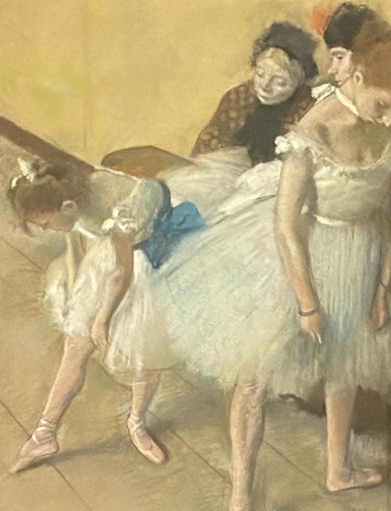 Edgar Degas pastel drawing ballet dancers Denver Art Museum