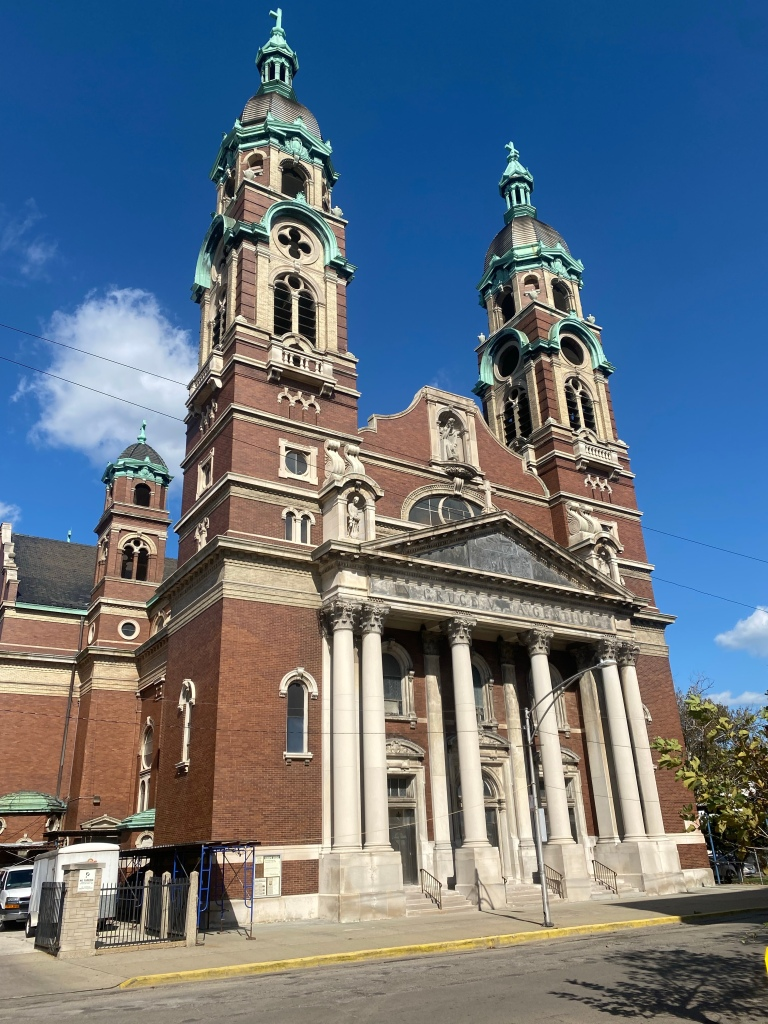 Holy Cross Catholic Church  Back of the Yards  Chicago neighborhood 1740 W 46th St  Chicago, IL 60609